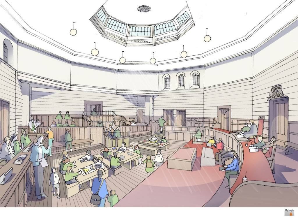 Courtroom - learning artist impression, June 2015 v4